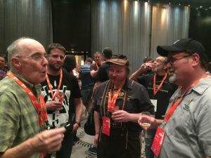 Brewing Masters chatting